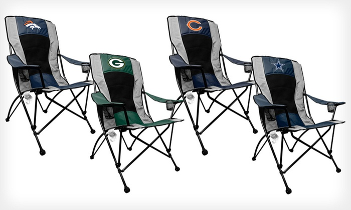 39 For An Nfl High Back Chair Groupon