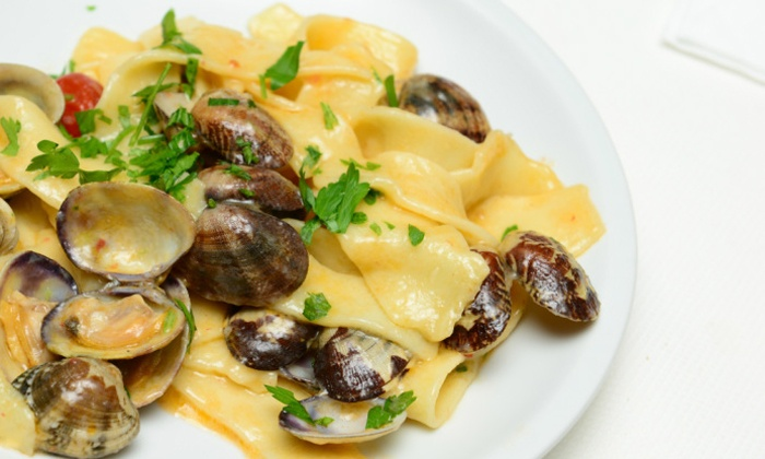 Trattoria 'A Vucchella - Downtown Bridgeport: Gourmet Italian Cuisine for Two or Four at Trattoria 'A Vucchella (Up to 44% Off)