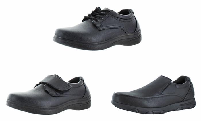 Moda Essentials Men's Slip- and Oil-Resistant Work/Kitchen Shoes