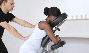 JGaldino Massage Therapy: 30-Minute Chair Massage or Reflexology Session at JGaldino Massage Therapy