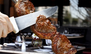 Brazil Grill Churrascaria: Unlimited Meat-and-Salad Buffet Dinner for Two or Four at Brazil Grill Churrascaria (Up to 43% Off)