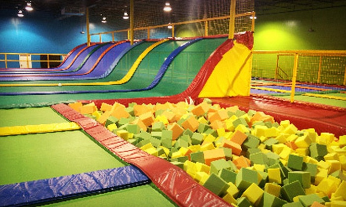Jumping World - Pasadena: $9 for Two Hours of Trampoline Time at Jumping World (Up to $18 Value)