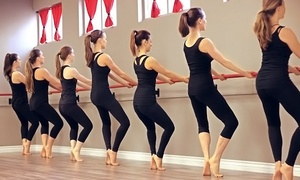 Unity Barre & Wellness: 5 or 10 Barre Classes or One Month of Unlimited Fitness Classes at Unity Barre & Wellness (Up to 76% Off)