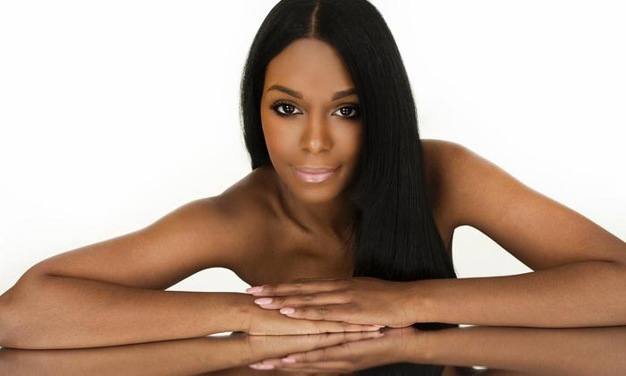 Christina Lu Natural Hair Studio - Mount Pleasant: Highlights and Blow-Dry from Christina Lu Natural Hair Studio (60% Off)
