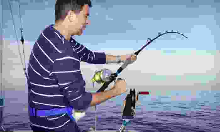 Sara-J Sportfishing Charters - Multiple Locations: Walk-On Eight-Hour Fishing Charter for One or Two from Sara-J Sportfishing Charters (Up to 52% Off)