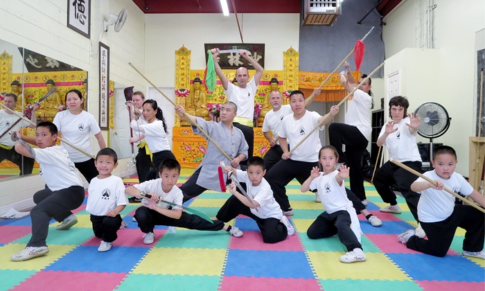 Shaolin Temple Traditional Kung Fu - East Rockville: $35 for Five Kung-Fu Classes at Shaolin Temple Traditional Kung Fu ($125 Value)