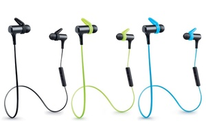 merkury bluetooth headphones groupon goods. Black Bedroom Furniture Sets. Home Design Ideas