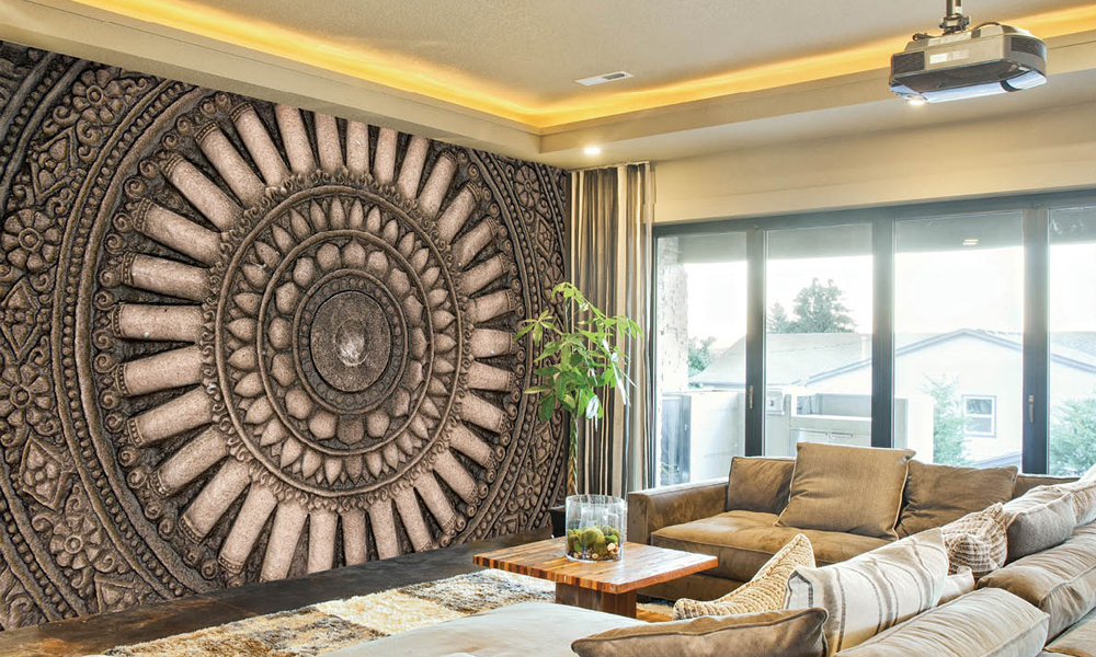 3d wall mural groupon goods for Art mural wallpaper uk