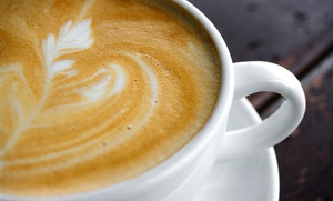 City Coffeehouse: Five Groupons, Each Good for a Large Drink at City Coffeehouse (Up to $27.80 Value)