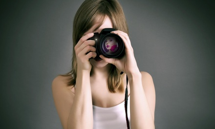 30-Minute Studio Photo Shoot with Digital Images from Jump Start Studios (75% Off)