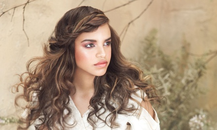 Cut, Hair Therapy, and Optional Color or Partial or Full Highlights at Namaste Pure Design Salons (Up to 59% Off)