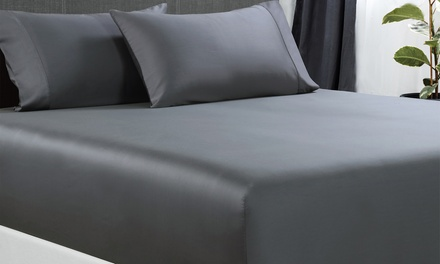 for a Bamboo Cotton Fitted Sheet Set Don't Pay up to $169
