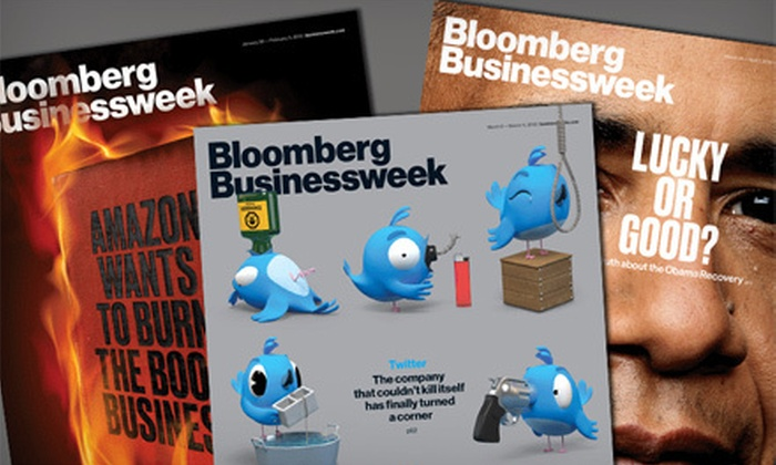 """""""Bloomberg Businessweek"""" - Los Angeles: 50 or 100 Business-Magazine Issues and Digital Access for iPhone and iPad Users of """"Bloomberg Businessweek"""" (53% Off)"""