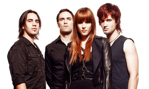 Halestorm: Halestorm at American Bank Center Exhibit Hall on May 26 at 7:30 p.m. (Up to 50% Off)