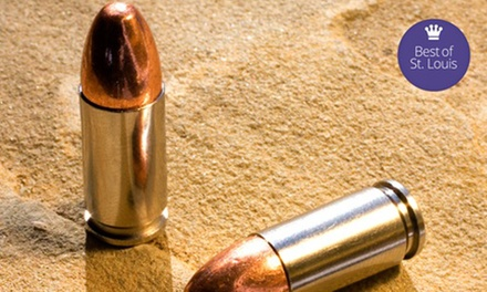 Shooting-Range Package for Two or Four at On Target STL (Up to 56% Off)