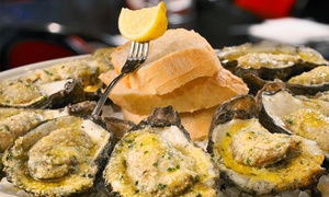 Desire Oyster Bar: Oysters and Creole Cuisine for Two or More at Desire Oyster Bar (Up to 49% Off)