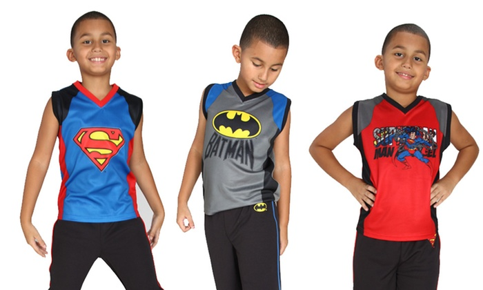 DC Comics 2-Piece Pajama Sets: DC Comics 2-Piece Pajama Sets. Multiple Options Available. Free Shipping and Returns.
