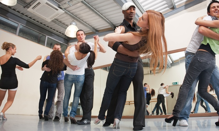 Fort Worth Swing Dance Syndicate - The Fort Worth Community Arts Center: Four or Eight Swing Dance Classes Two People at Fort Worth Swing Dance Syndicate (Up to 56% Off)