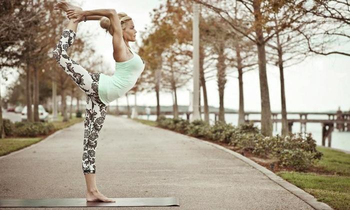 Guruv Yoga - Multiple Locations: $39 for 10 Yoga Classes at Guruv Yoga ($110 Value). Three Locations.