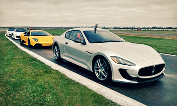 Signature Car Collection - Tunkhannock: Drive in a Sports Car Around Pocono Raceway from Signature Car Collection (Up to 60% Off). Eight Options Available.