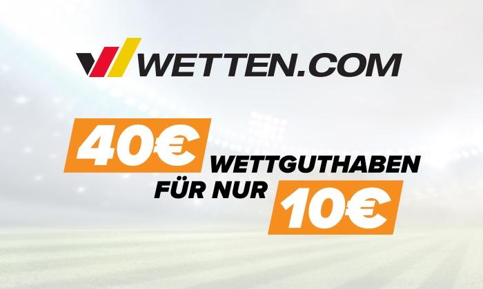 30 € Wettguthaben auf Wetten.com