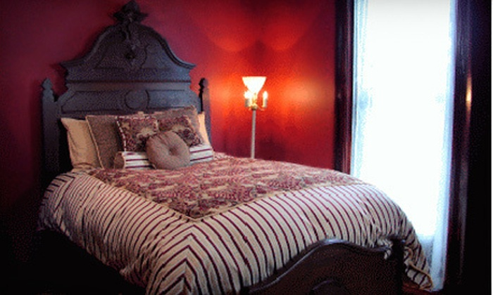 Whiskey Mansion Bed and Breakfast - St. Joseph: $139 for a Two-Night Stay for Two with a Restaurant Credit at Whiskey Mansion Bed and Breakfast (Up to $268 Value)