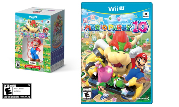 Mario Party 10 for Wii U with Optional Mario Amiibo Figure: Mario Party 10 for Wii U with Optional Mario Amiibo Figure from $49.99–$59.99
