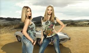 Fashion Outlet Experience: Bon d'achat d'une valeur de 150€ à 75€ ou de 200€ à 100€ à valoir sur les jeans Fornarina chez Fashion Outlet Experience