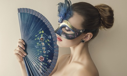 Hampshire: Masquerade Ball Ticket for Two; with Option for a 1Night Stay with Breakfast at Warbrook House
