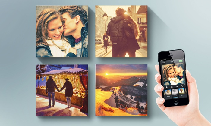Printerpix: Custom Square Instagram Photo Canvas from Printerpix