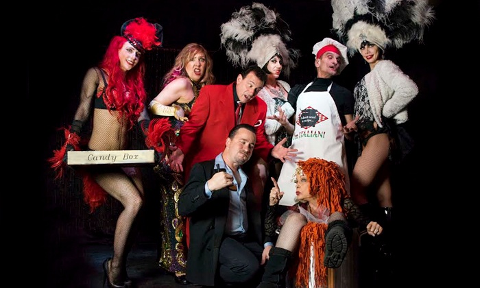 """On Broadway, Ba-Da-Bling, or TickleMe Comedy Club - Colombo Showroom at Toscano Italian Restaurant: """"On Broadway,"""" """"Ba-Da-Bling,"""" or TickleMe Comedy Club Show with Dinner (Up to 30% Off)"""
