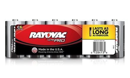 Rayovac C Batteries (6-Pack)