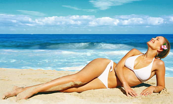 24K Airbrush Tanning Studio - Tulsa: $49 for Three Spray Tans at 24K Airbrush Tanning Studio ($120 Value)