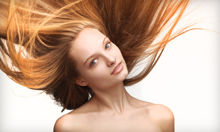 Spa Martier - Midtown East: Haircut and Conditioning with Optional Color or Partial or Full Highlights at Spa Martier (Up to 82% Off)