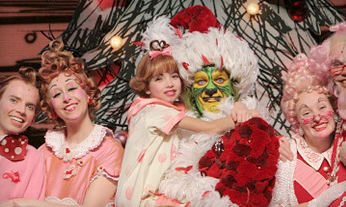 """Dr. Seuss' How the Grinch Stole Christmas! The Musical"" - Chelsea: ""Dr. Seuss' How the Grinch Stole Christmas! The Musical"" at The Theater at Madison Square Garden (Up to 41% Off)"