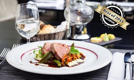 5-Gänge-Gourmet-Menü für 2 oder 4 Gäste im Ristorante Rossini