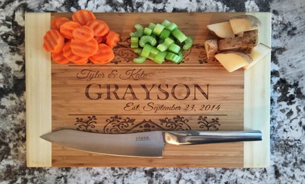 Engraved Cutting Boards, Wooden Spoons, and Home Decor from American Laser Crafts (Up to 60% Off)