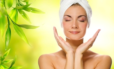 $109 for a Microdermabrasion Facial, Mani-Pedi, and Massage at Liquid Salon and Spa ($235 Value)