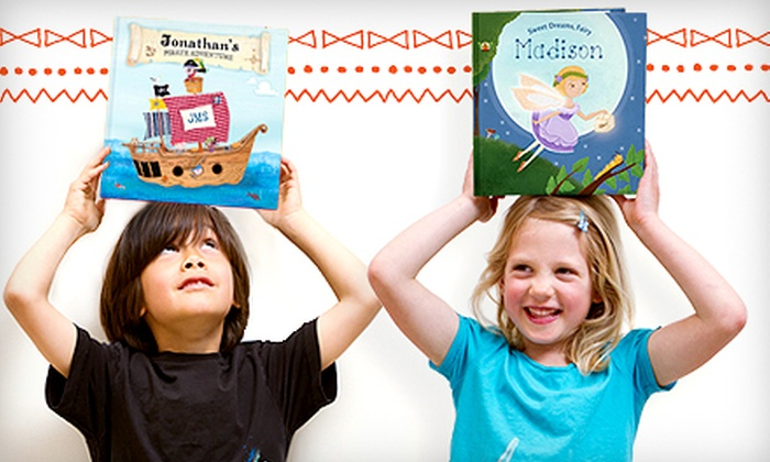 MyChronicleBooks: Personalized Kids' Books and Gifts from MyChronicleBooks (Up to 52% Off). Two Options Available.