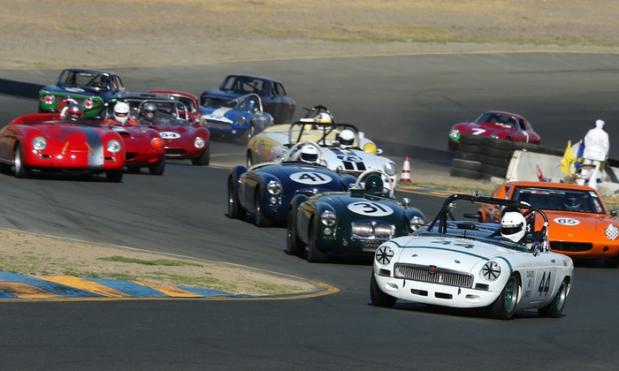 Vintage Formula 1 at 12th CSRG Charity Challenge Vintage Car Road Races - Sonoma Raceway: Classic Sports Racing Group Presents The Charity Challenge Vintage Racing on October 3–4 (Up to 52% Off)