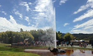 Old Faithful Geyser of California: Visit for Two or Four to Old Faithful Geyser of California (Up to 48% Off)