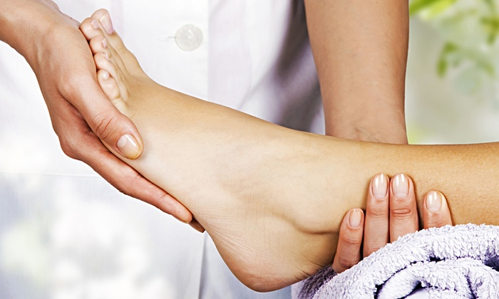 Be Pampered Spa - Burlington: 45-Minute Foot Reflexology Treatment, 60-Minute Massage, or Both at Be Pampered Spa (Up to 55% Off)
