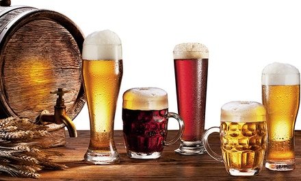 German-Inspired Food and Beer for Two or Four at Tyber Bierhaus (Up to 42% Off)