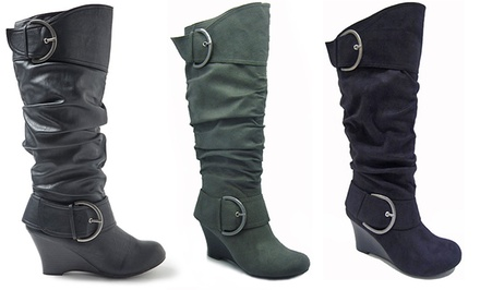 Unionbay Rachel Wedge Boot $29...