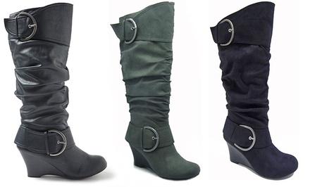 Unionbay Rachel Wedge Boot $29...