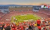 Foster Farms Bowl - Pac-12 vs. Big Ten - Levi's Stadium: One G-Pass to Stanford and Maryland in the Foster Farms Bowl at Levi's Stadium on December 30 (Up to 51% Off)