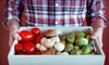 Betty's Organics: $17 for One Box of Organic Fruits and Vegetables Delivered to Your Door from Betty's Organics ($34 Value)