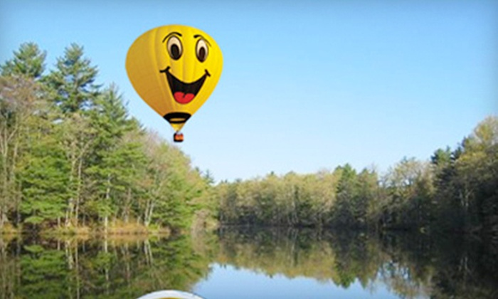 High 5 Ballooning - Salem: Weekday or Weekend Hot-Air Balloon Ride for Two from High 5 Ballooning (Up to 38% Off)