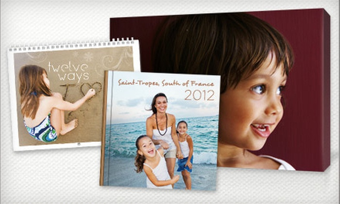 Picaboo: Canvas Prints, Classic Photo Books, Calendars, and Cards from Picaboo (Up to US$100 Value). Two Options Available.