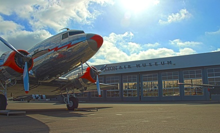 Two or Four Tickets or One-Year Membership for Individual or Family at Lyon Air Museum (Up to 79% Off)